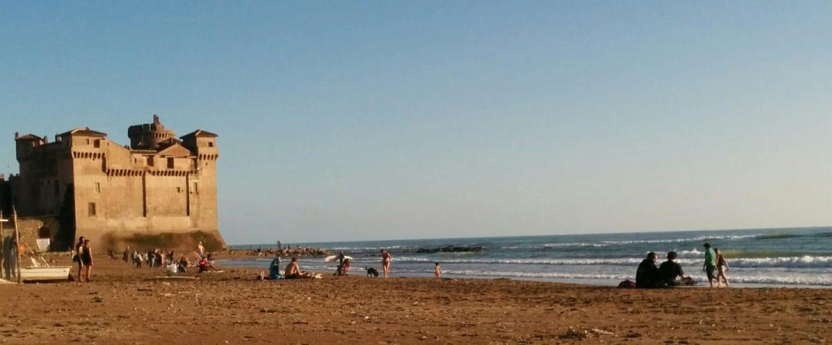 Santa Severa Castle Beach